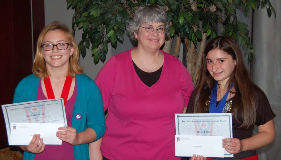 2012 National History Day OHRAB Award Winners