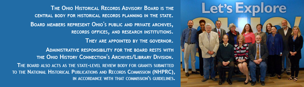 The Ohio Historical Records Advisory Board