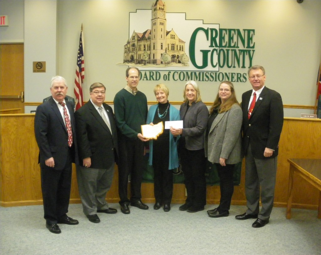 OHRAB 2014 Achievement Award to Greene Co Archives December 16, 2014