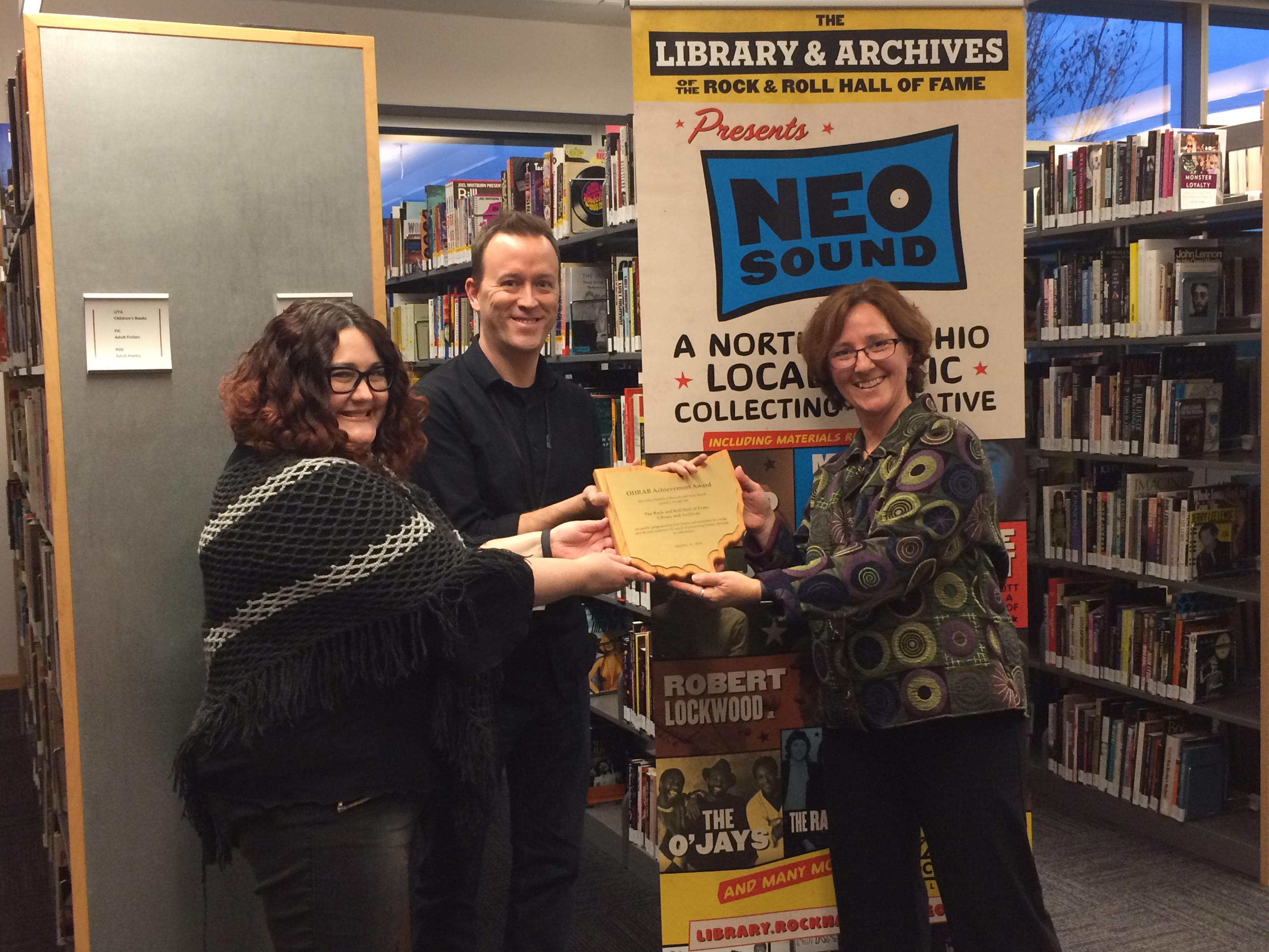 OHRAB 2016 Achievement Award presented to Greene County Records Center and Archives
